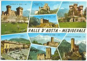 Italy, VALLE D'AOSTA, MEDIOEVALE, unused Postcard