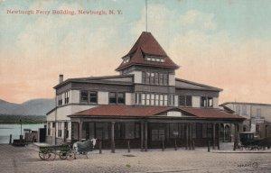 NEWBURGH, New York, 1900-1910s; Newburgh Ferry Building