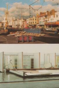 Beach Hut Huts Storm Damage Westcliffe On Sea Essex Hurricane Disaster Postcard