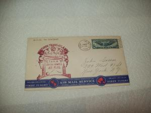 US First flight cover, FAM 18, New York to Ireland, 1939