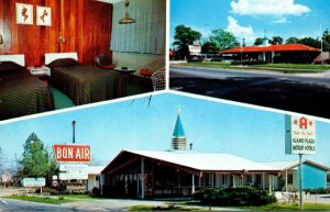 South Carolina Allendale Bon-Air Motor Lodge 1965