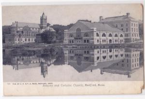 Armory & Catholic Church, Medford MA