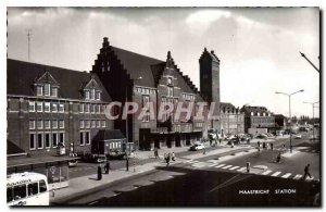 Postcard Modern Maastricht Station