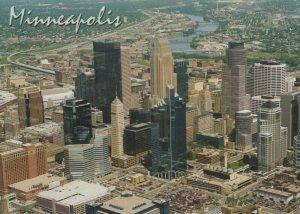 America Postcard - Aerial View of Minneapolis, Minnesota   RRR246