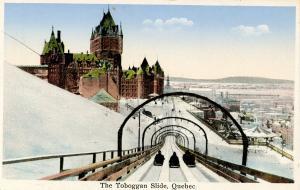 Canada - Quebec, Quebec City. The  Toboggan Slide
