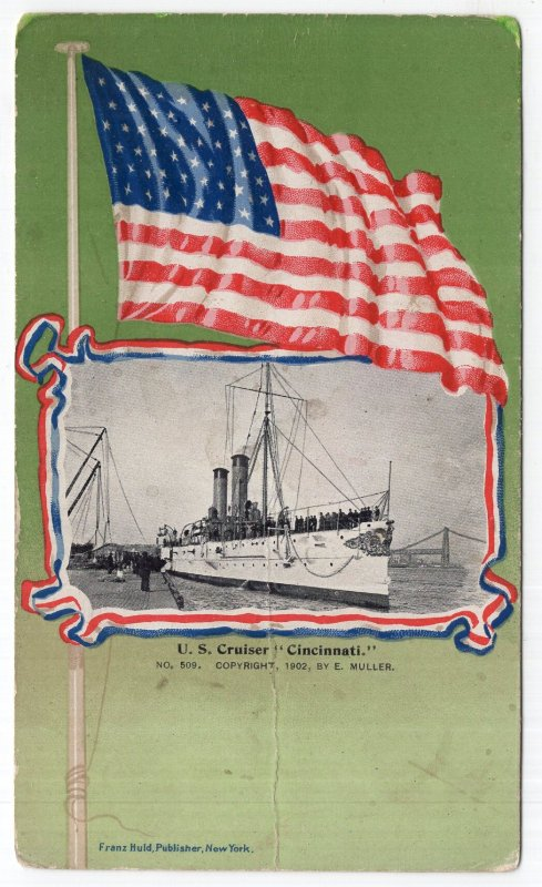 U. S. Cruiser Cincinnati