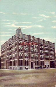 CAREY HOTEL, WICHITA, KS 1910