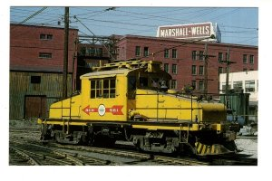 BC Hydro Train, Carroll Street, Vancouver, British Columbia 1965, Marshall Wells