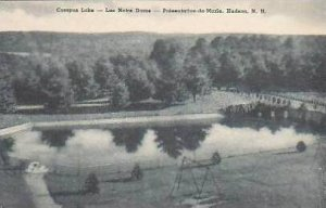 New Hampshire Hudson Campus Lake Lac Notre Dam Presentation de Marie Albertype