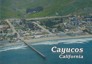 California Cayucos Resort Community Aerial View