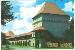Romania, Targu Mures used Postcard