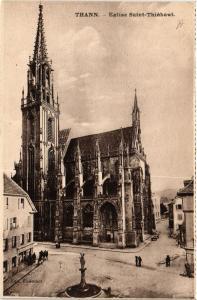 CPA AK THANN - Église St-Thiebaut (659846)