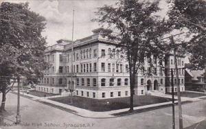South Side High School Syracuse New York 1913