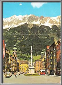 Austria Innsbruck St Anne Postcard