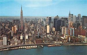 USA New York Midtown Manhattan Panoramic view