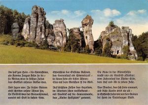 Die Externsteine im Teutoburger Wald Bridge Rocks