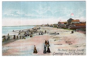 Greetings from Old Orchard, The Beach looking South