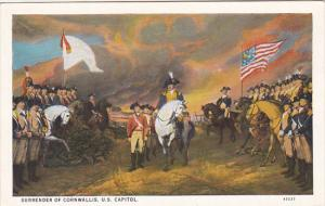 Surrender Of Cornwallis  1928Curteich