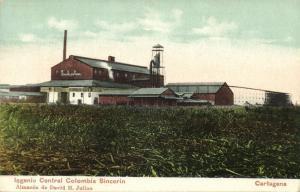 colombia, CARTAGENA, Ingenio Central Colombia Sincerin (1905)