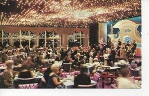 Postcard - FL - Florida Miami Beach Doral Hotel Dining Room Show Posted 1968