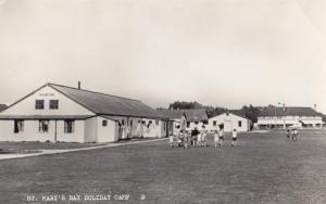 St Marys Bay Holiday Camp Chalets Kent Real Photo Postcard