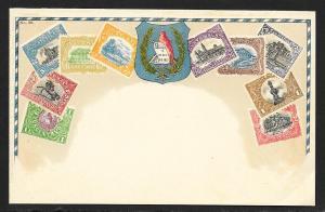 GUATEMALA Stamps on Postcard Unused c1910s
