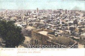 From the North JerUSA lem, Israel Unused