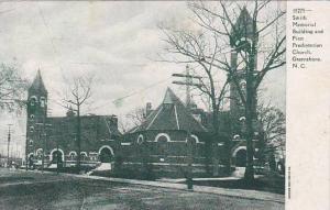 Smith Memorial Building and First Presbyterian Church,Greensboro, North Carol...