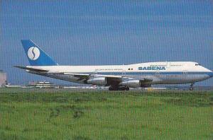 SABENA BELGIAN WORLD AIRWAYS BOEING 747-329