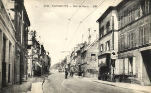 CPA Pierrefitte - Rue de Paris (124334)
