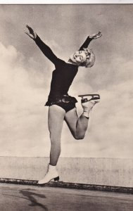 RP: Figure Skater JANA MRAZKOVA(CSSR) Autographed, 1960s (2)