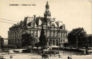 CPA LIMOGES - L'Hotel de Ville (390678)