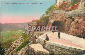 Old Postcard Constantine Boulevard of the Abyss