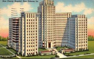 Louisiana New Orleans New Charity Hospital 1945 Curteich