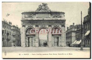 Old Postcard Nancy Porte Desilles former New Gate Staines or Metz