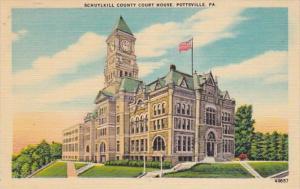 Pennsylvania Pottsville Schuykill County Court House