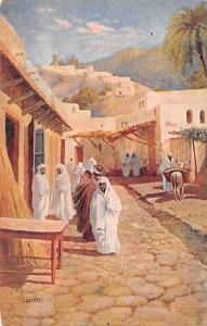 Egypt, Egypte, Africa Road Scene  Road Scene