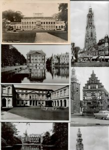 Netherlands Baarn Den Haag Amersfoort and more RPPC Postcard Lot of 20 01.08