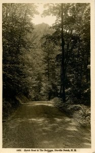 NH - Dixville Notch. Notch Road & The Buttress   RPPC