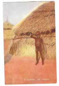 A soldier's son , Nigeria , 00-10s tUCK