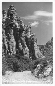 Arizona Bonita Chiricanua National Monument 1950s RPPC Photo Postcard20-10471