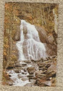 VERMONT WATERFALL Postcard Scenic