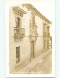 Pre-1942 rppc NICE VIEW San Miguel De Allende - Guanajuato Mexico i3799