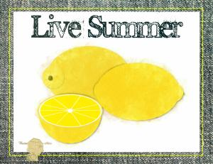 Set of 6 Digital Art Watercolor Lemons All Occasion Handmade Postcards