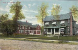 Presque Isle ME Main St. Bldgs c1910 Postcard