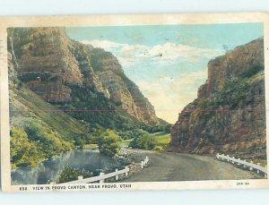 W-border COUNTRY ROAD Provo Utah UT AD7106