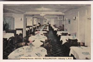 New York Albany Dining Room Hotel Wellington