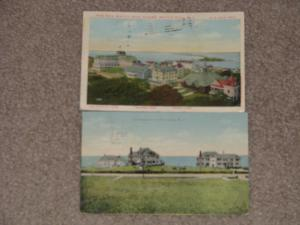 The New Watch Hill House & Cottages at Watch Hill, R.I., 1912, used vintage card