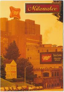 MILLER BREWERY, Milwaukee, Wisconsin, unused Postcard