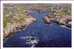 Air View, Peggy's Cove, Nova Scotia, Canada